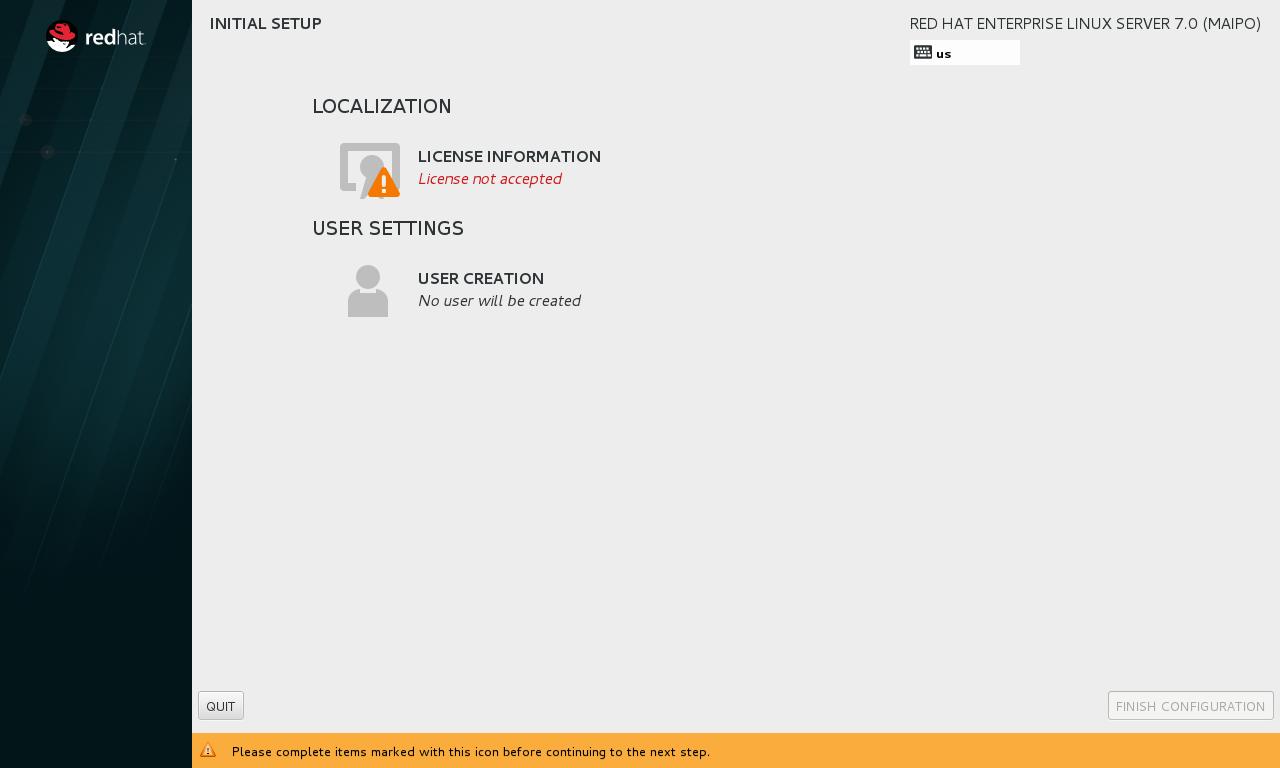 """第13步:重启后选择""""License Instormation""""。"""