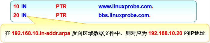 反向区域数据文件不需要写主机网络部分