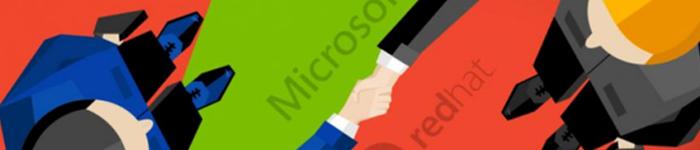 红帽Linux与微软Windows建立战略合作关系。