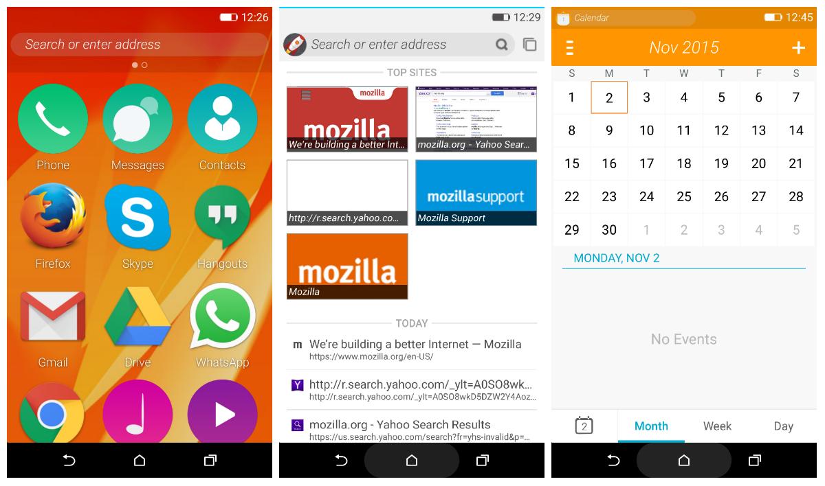 Firefox手机操作系统