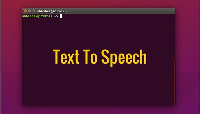 Linux_Text-to-Speech