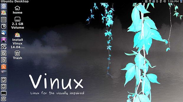 Vinux操作系统界面