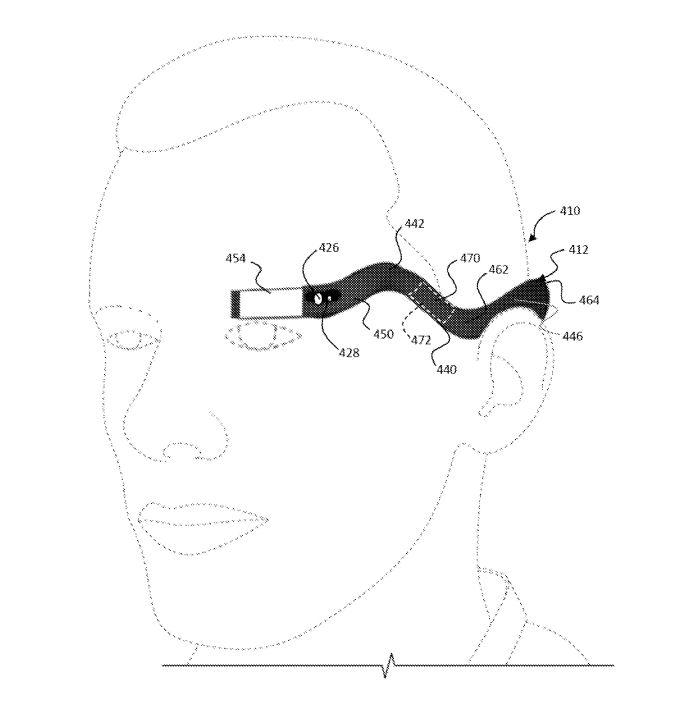 google glass 配套模拟图