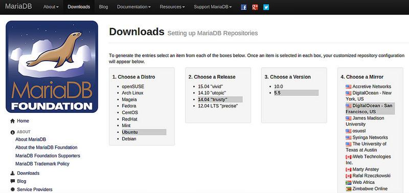Download_mariaDB
