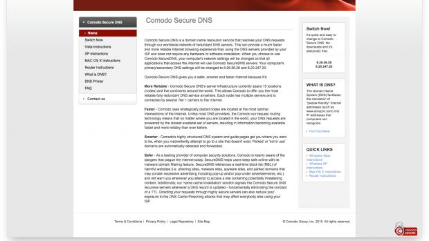 comodo_secure_dns