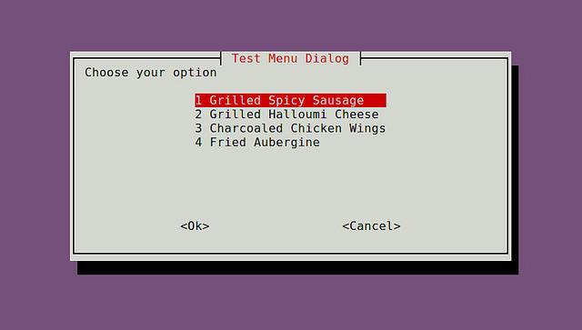 创建交互式shell脚本对话框创建交互式shell脚本对话框