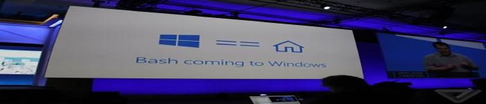 微软Win 10年度重磅升级:加入Linux命令行