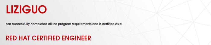 捷讯:李自国5月17日上海顺利通过RHCE认证。