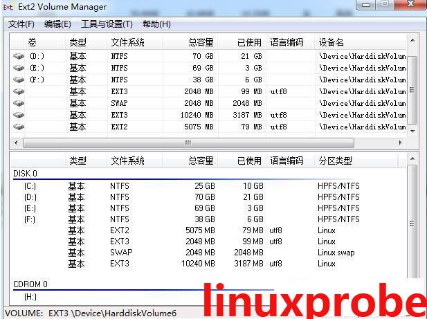 windows下读取Linux分区软件windows下读取Linux分区软件