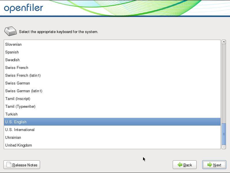 vmware-install-openfiler_10