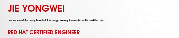 捷讯:节永卫7月22日北京顺利通过RHCE认证。