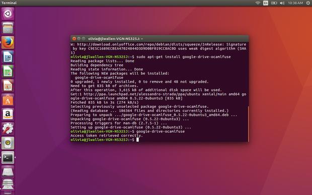 教你用 google-drive-ocamlfuse 在 Linux 上挂载 Google Drive