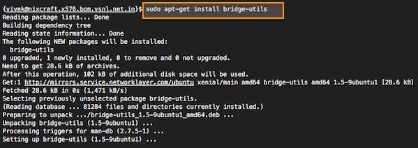如何在 Ubuntu 上搭建网桥