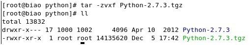 Linux下搭建Python2.7环境