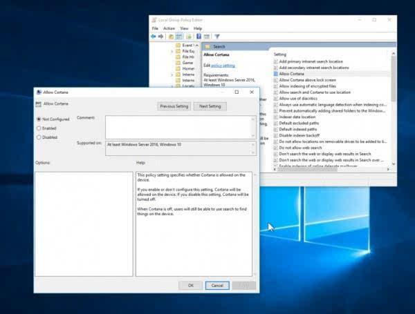 Windows 10周年更新无法关闭Cortana?这里有方法