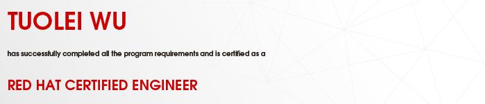 捷讯:吴拓磊8月24日深圳高分通过RHCE认证。