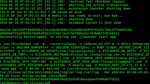 如何在 Ubuntu Linux 16.04上安装开源的 Discourse 论坛如何在 Ubuntu Linux 16.04上安装开源的 Discourse 论坛