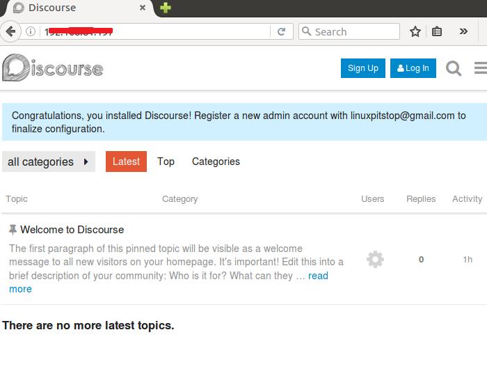如何在 Ubuntu Linux 16.04上安装开源的 Discourse 论坛