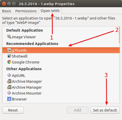 怎样在 Ubuntu 中修改默认程序
