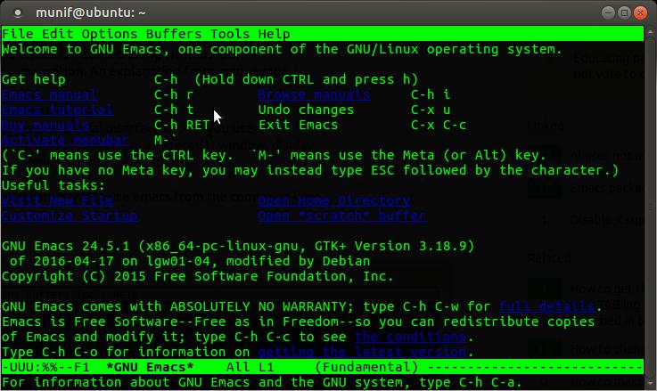 Linux 命令行下的最佳文本编辑器