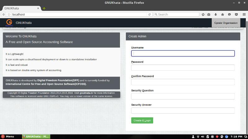 GNU KHATA:开源的会计管理软件