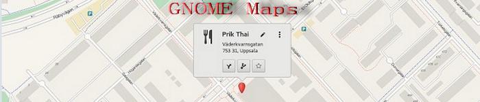 GNOME Maps 重新恢复正常使用功能