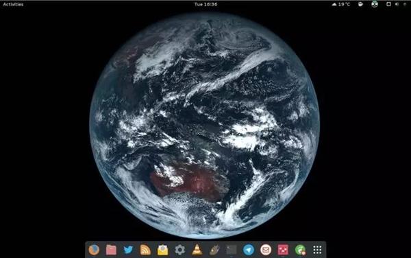 让你的Linux桌面变成一张实时地球照片