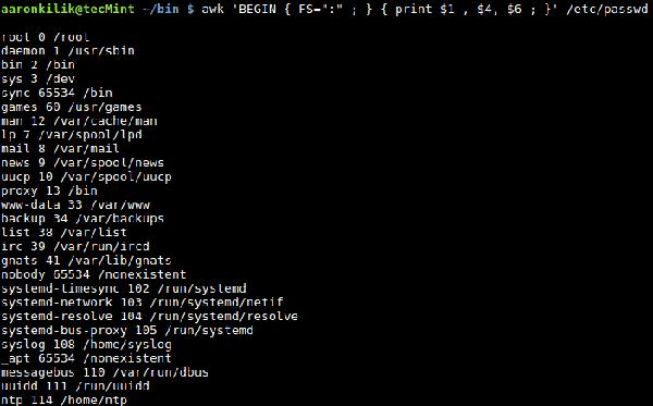 awk系列:如何使用awk内置变量
