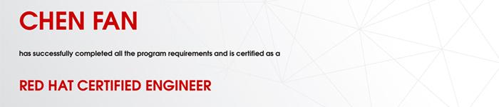 捷讯:陈凡9月28日广州顺利通过RHCE认证。