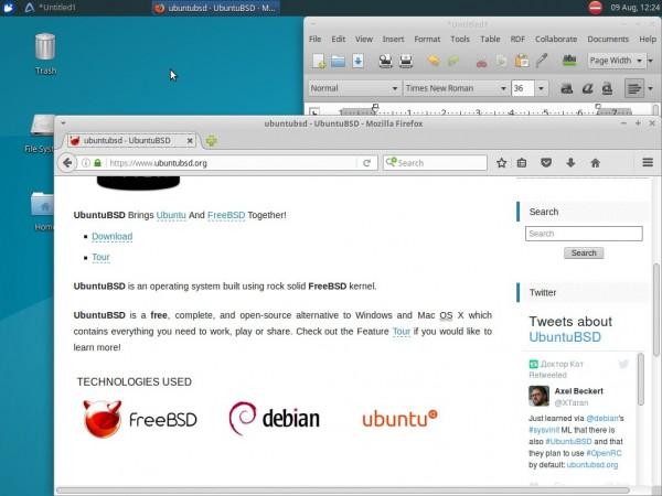 UbuntuBSD 16.04首个Beta版本发布