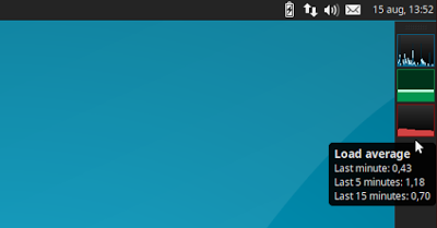 LXDE、Xfce 及 MATE 桌面环境下的又一系统监视器应用:Multiload-ng