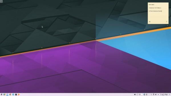 Kubuntu 16.10 Beta 2上线发布:默认使用Plasma 5.7