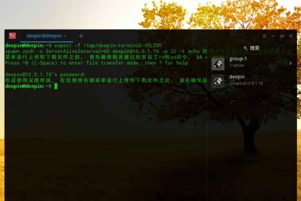 深度终端V2.0正式发布 - 终端之上 命令之下