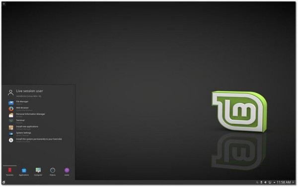 """[下载]Linux Mint 18 """"Sarah"""" KDE发行版本正式上线"""