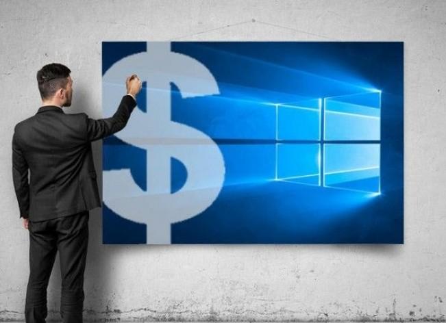 微软确定新商业模式:Windows 10付费才能玩