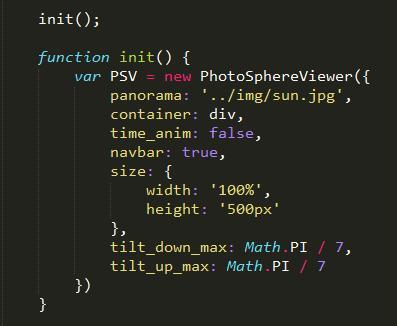 浏览器中实现3D全景浏览