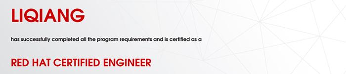 捷讯:李强10月4日北京顺利通过RHCE认证。