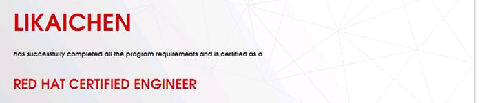 捷讯:李铠臣10月1日北京顺利通过RHCE认证。