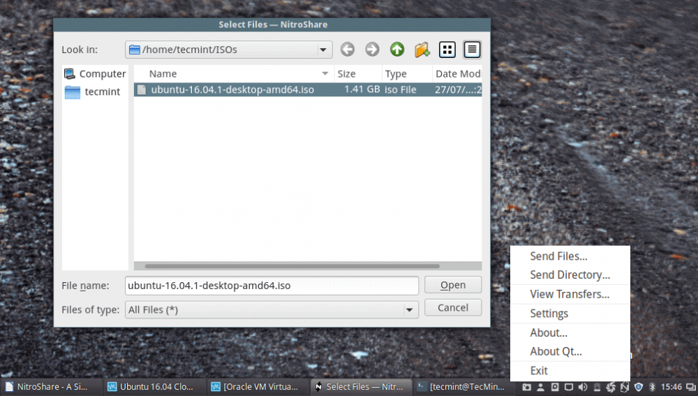 NitroShare:内网多操作系统间快捷文件共享工具