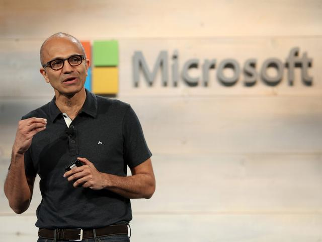 微软将再回购公司10%的股票,价值400亿美元