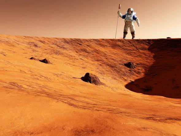 这家公司宣称十年内可将人类送上火星