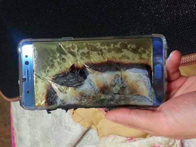 三星全球停售停用Note 7!手机霸主跌落神坛