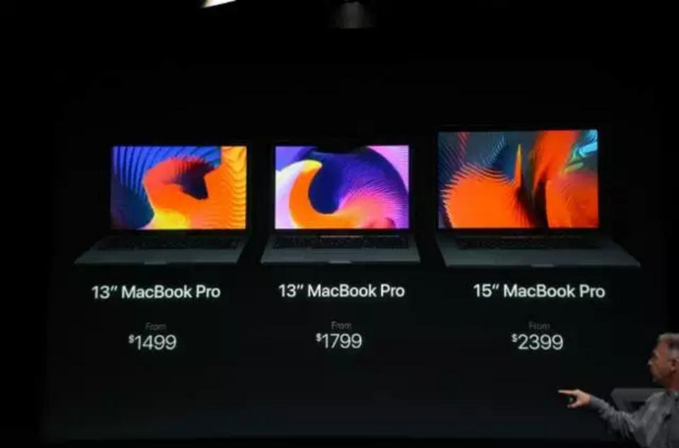 苹果在凌晨发布新款Macbook Pro苹果在凌晨发布新款Macbook Pro