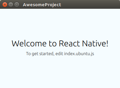 React Native Ubuntu 简介React Native Ubuntu 简介