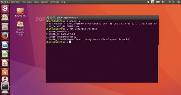 Ubuntu 17.04(Zesty Zapus)首个每日构建版发布