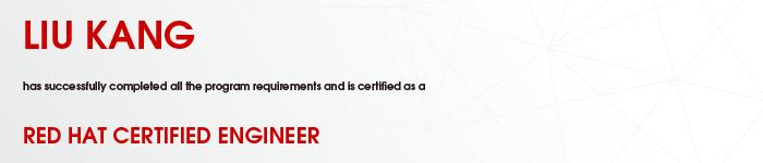 捷讯:刘康11月29日北京顺利通过RHCE认证。