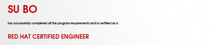 捷讯:苏波11月29日北京顺利通过RHCE认证。