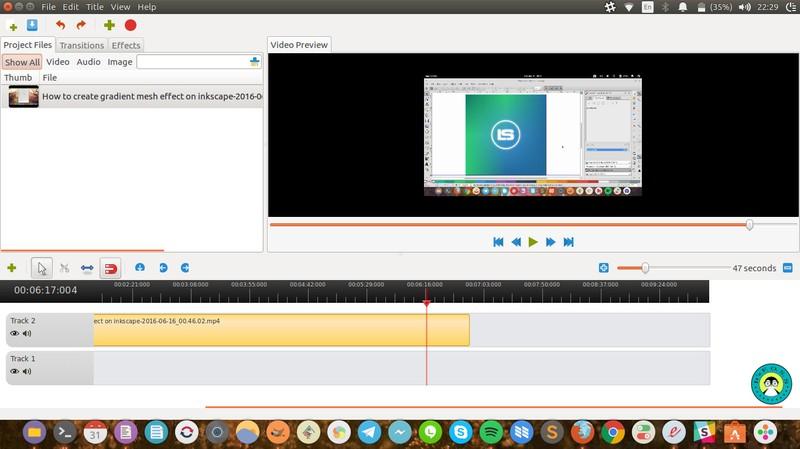 2016 年 Linux 下五个最佳视频编辑软件