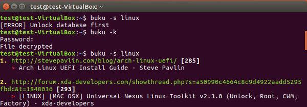 如何在 Ubuntu 命令行下管理浏览器书签