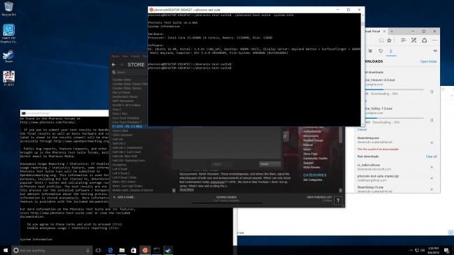 Ubuntu 14.04/16.04 与 Windows 10 周年版 Ubuntu Bash 性能对比